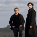 Sherlock Holmes y Watson de la BBC
