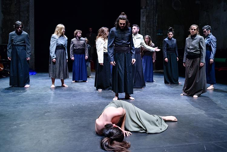 Barcelona 21/12/2015 . Cía. Teatre Tot Terreny a la Sala Beckett. MIGUEL LÓPEZ MALLACH per La Directa