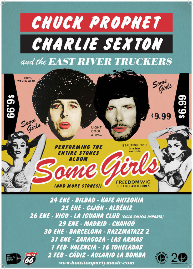 Chuck Prophet and Charlie Sexton tour