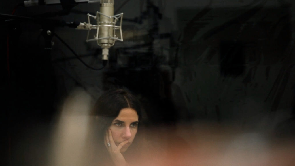 Imagen de la artista PJ Harvey del documental del In-Edit