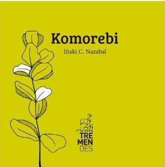 Imagen de la portada del poemario Komorebi de Iñaki C. Nazabal