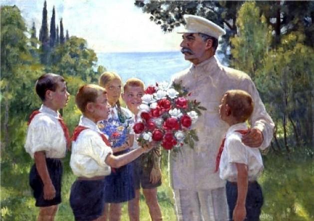 Imagen de Stalin, líder ruso durante el tiempo que transcurre la novela 'Niños del Arbat', de Anatoli Rybakov