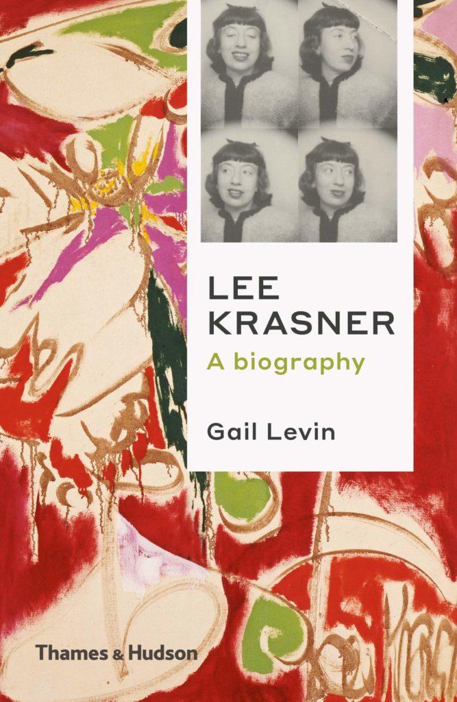 Portada de la biografía de Lee Krasner