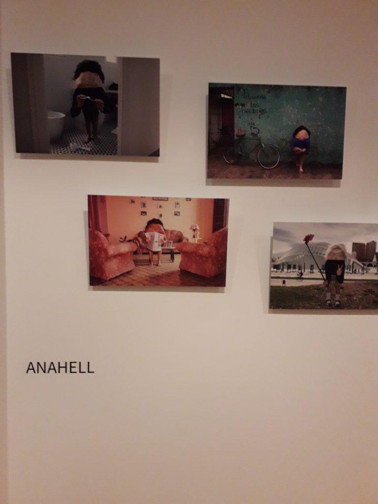Imagen de la exposición Expressió corporal en el Studio 52 Anahell