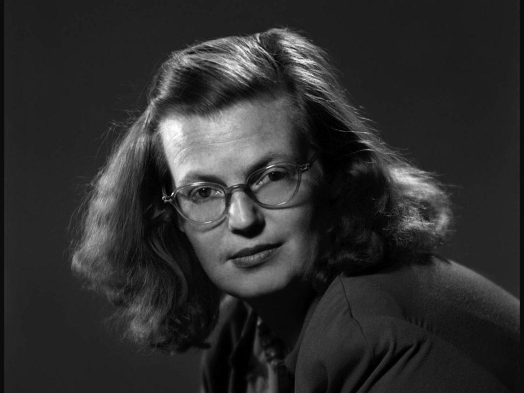Retrato de la escritora Shirley Jackson