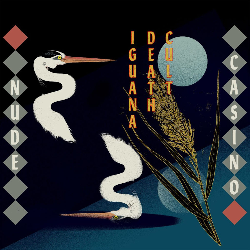 Portada del disco de Iguana Death Cult Nude Casino