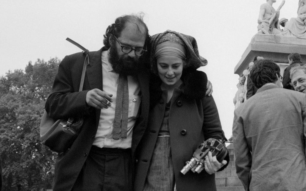 Allen Ginsberg y Barbara Rubin