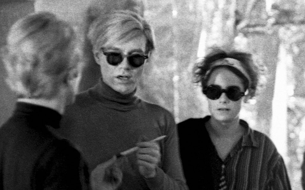 Barbara Rubin y Warhol