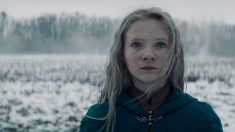 Freya Allan como Ciri en The Witcher de Netflix