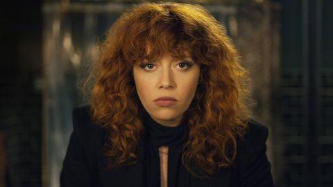 Natasha Lyone en la serie de Netflix Muñeca rusa