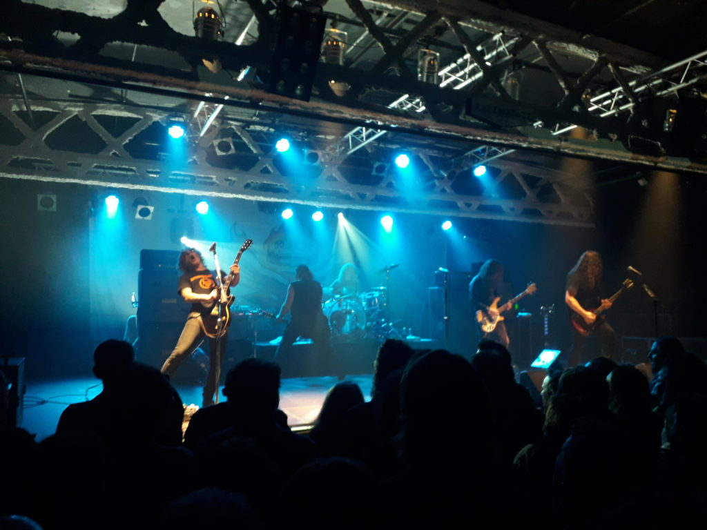 Imagen del concierto de Monster Magnet en Barcelona