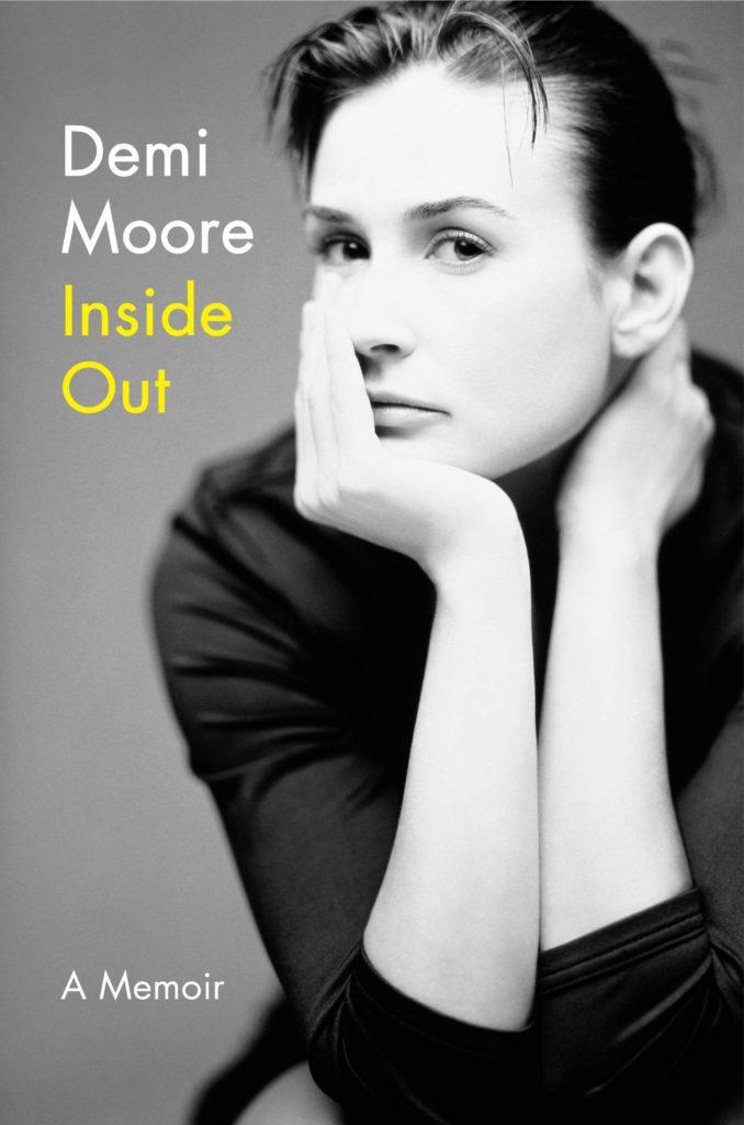 Portada del libro de Demi Moore, Inside Out