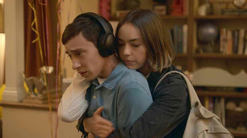 Fotograma de la serie de Netflix Atípico, su protagonista tiene austismo