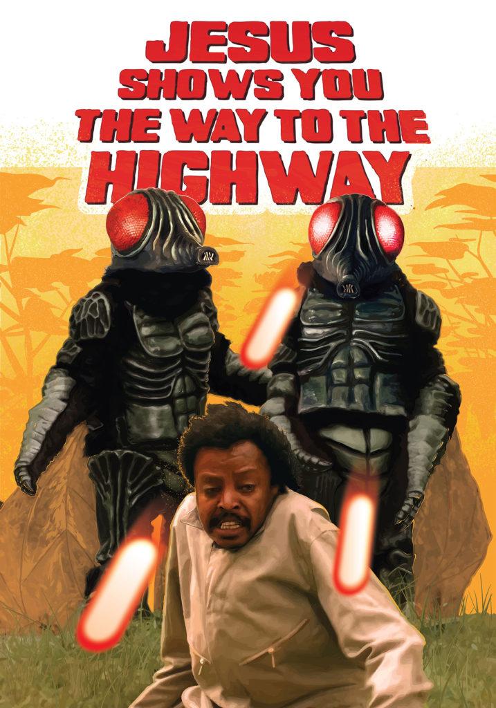 Póster del film Jesus Shows You The Way to the Highway vista en el D'A