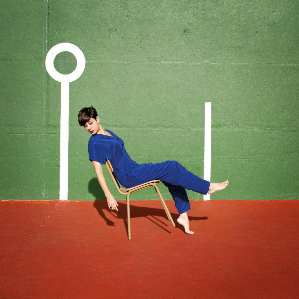 Portada del disco Els Mals Costums de Anna Andreu