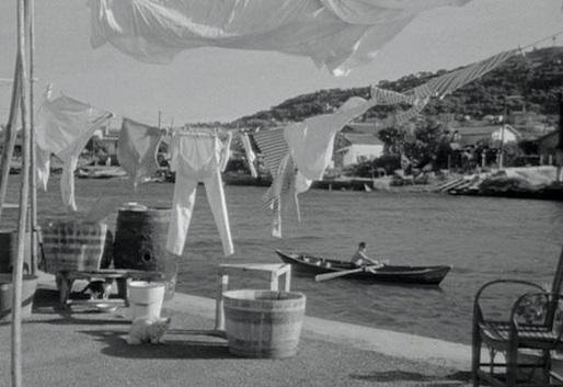 Imagen del film de Agnès Varda La Pointe-Courte
