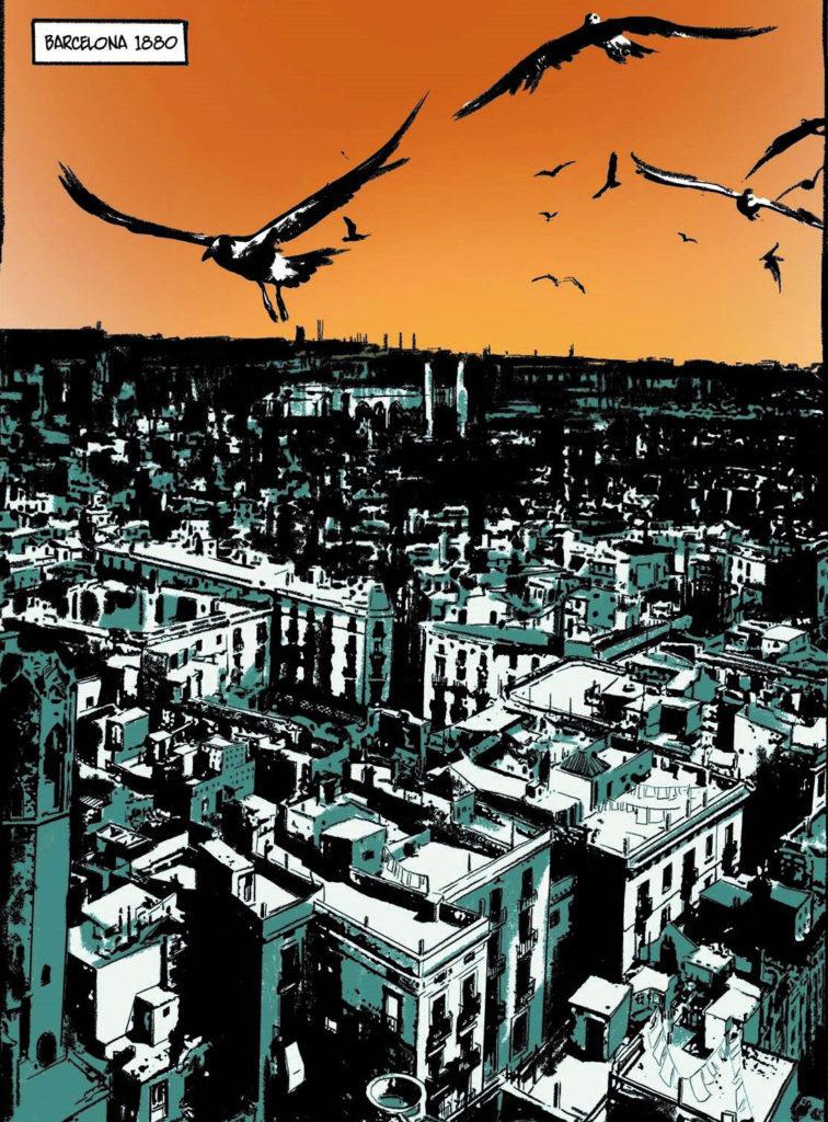 Imagen del cómic La ciudad de los prodigios