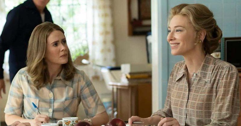 Imagen de Sarah Paulson y Cate Blanchett en la serie de HBO Mrs. America