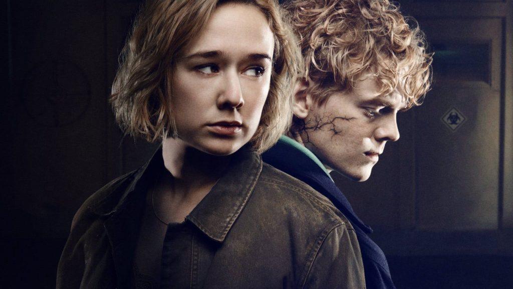 Imagen de los protagonistas de la serie nórdica The Rain