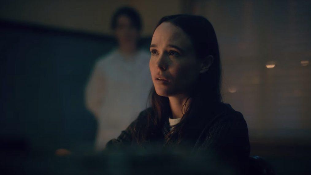 Ellen Page en la serie  The Umbrella Academy
