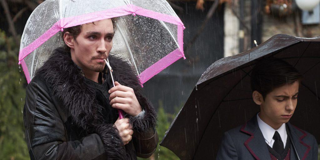 Escena de la serie The Umbrella Academy