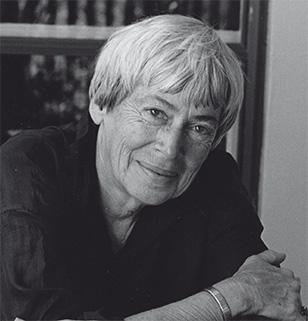 Retrato de la escritora Ursula K. Le Guin.