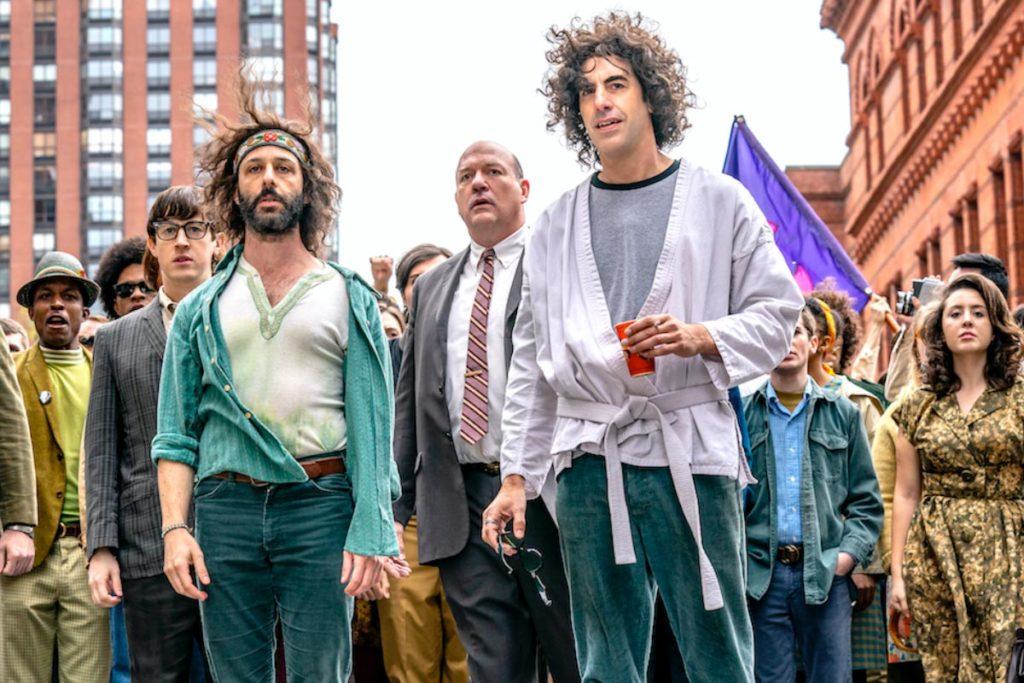 Imagen del film El juicio de los 7 de Chicago