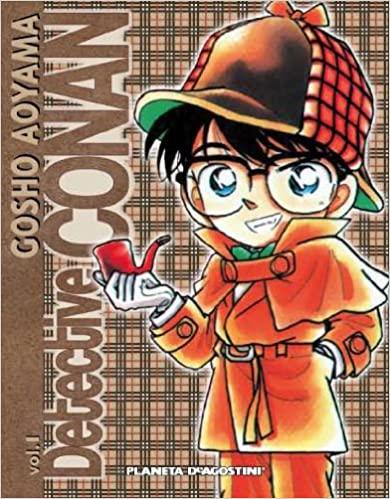 Portada del primer volumen de Detective Conan personaje inspirado en el detective de Edogawa Rampo protagonista de El lagarto negro.
