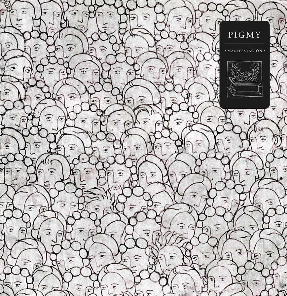 Imagen de la portada del disco de Pigmy titulado Manifestación.