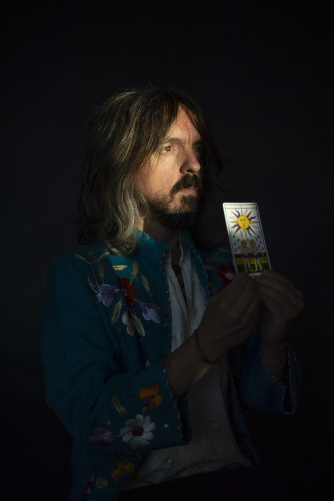 Retrato del músico Pigmy en promoción de su disco Manifestación