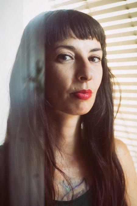 Retrato de la artista Vanesa Muñoz