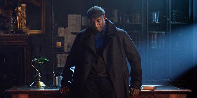 El actor Omar Sy en Lupin