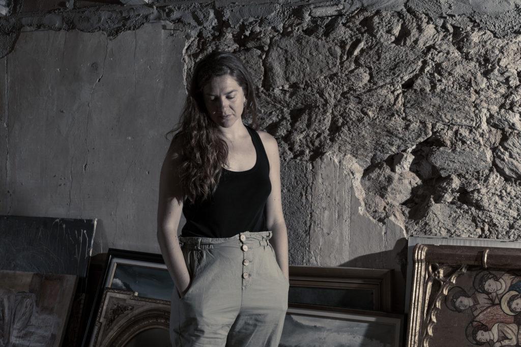 Retrato de la cantante Tona Gafarot