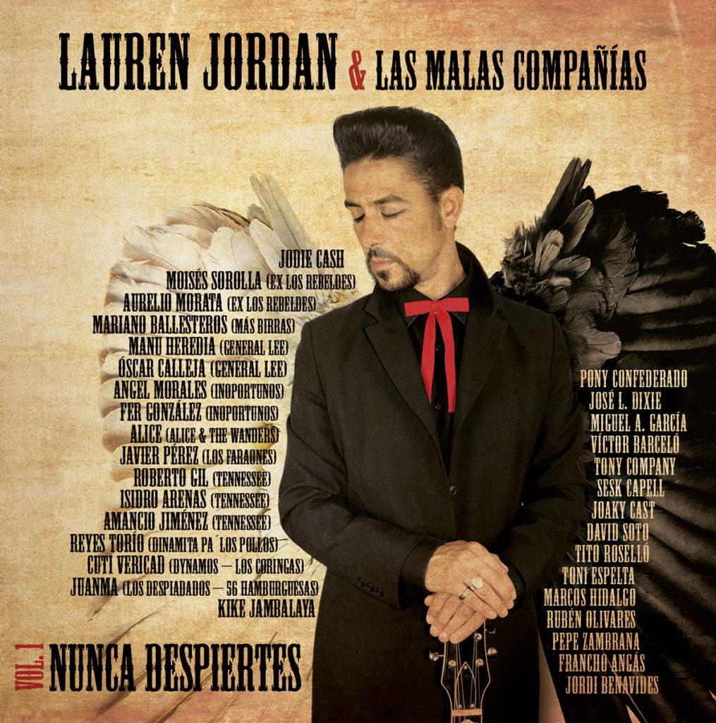 Portada del disco Lauren Jordan & Las malas compañías