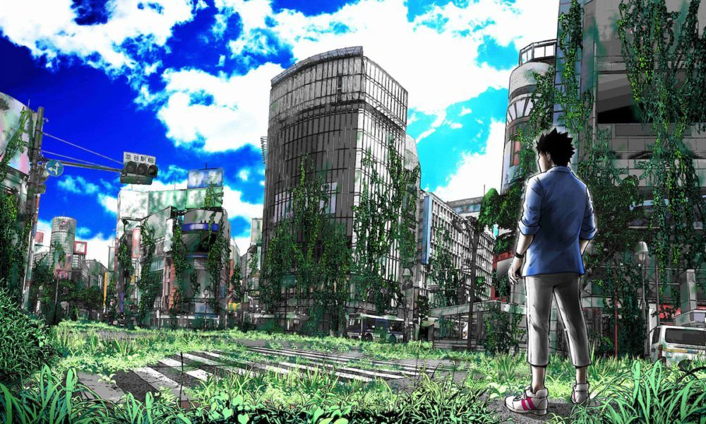 Imagen del cómic en el que se basa la serie Alice in Borderland