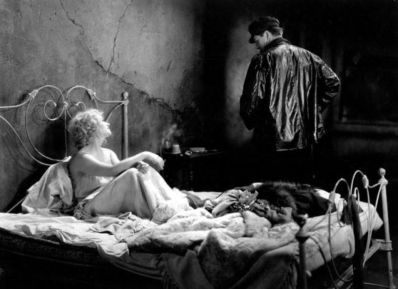Imagen del film Los muelles de Nueva York de Josef von Sternberg