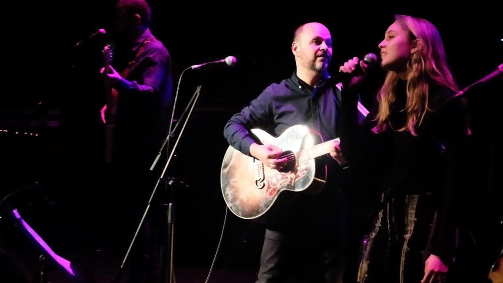 Imagen del concierto de Petit en el Teatre principal de Mallorca