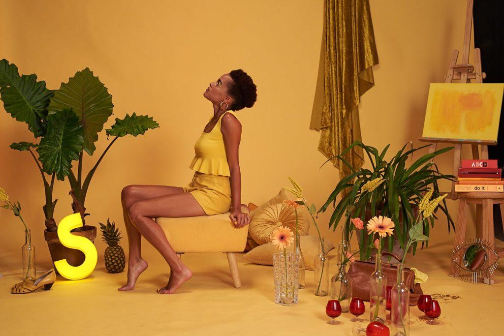 Fotografia de Saphie Wells con motivo de su disco Inside Out @Jahel Guerra