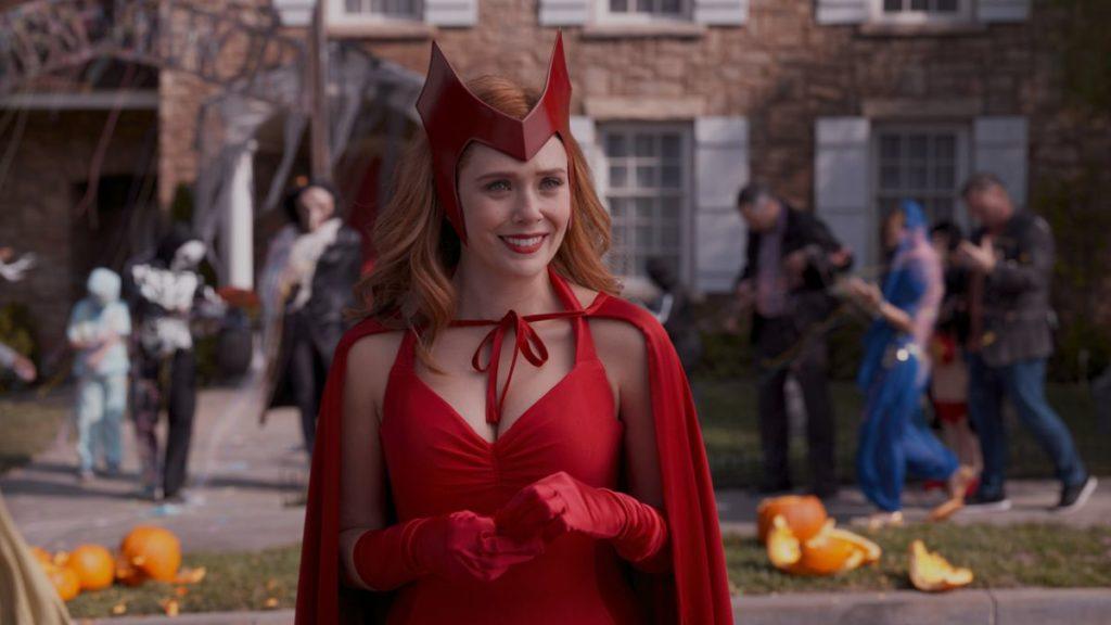 Imagen de Elizabeth Olsen como Wanda Maximoff en WandaVision