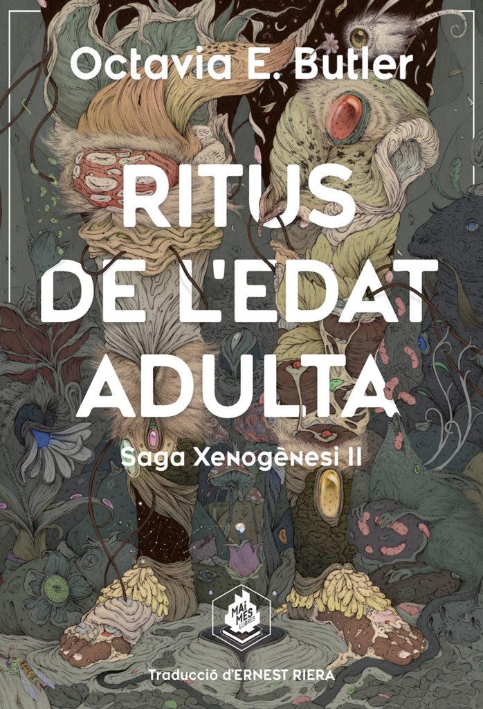 Porta del libro Ritus de l'edat adulta de Octavia E. Butler, ilustración de Vorja Sánchez.