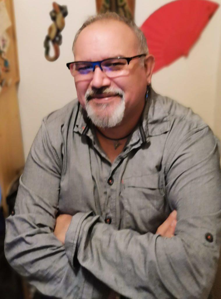 Retrato del escritor Jesús Vera