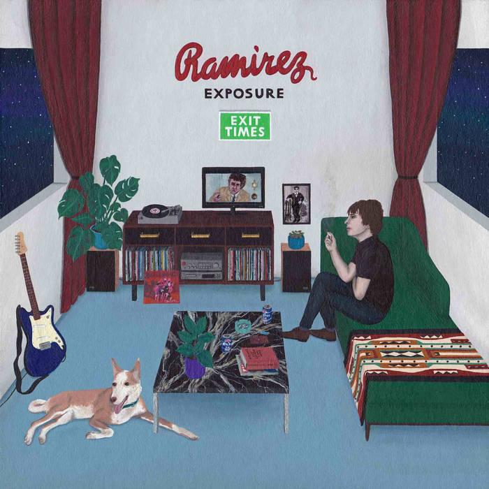 Portada del disco Exit Times del músico valenciano Víctor Ramírez, conocido como Ramírez Exposure