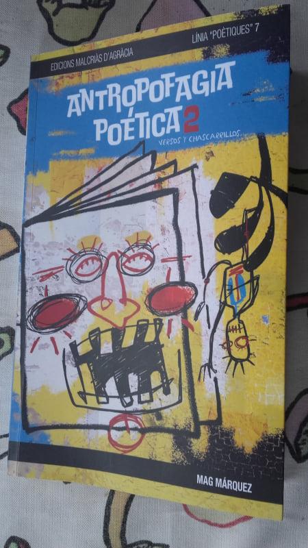 Portada del libro Antropofagia Poética 2 de Mag Márquez