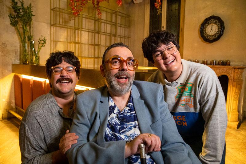 Carlos González, Bob Pop y Gabriel Sánchez protagonistas de la serie Maricón perdido