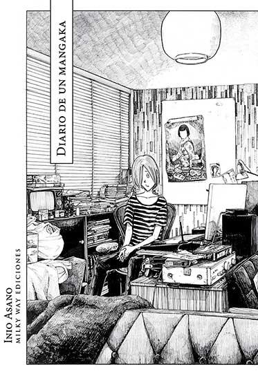 Portada de Diario de un mangaka de Inio Asano