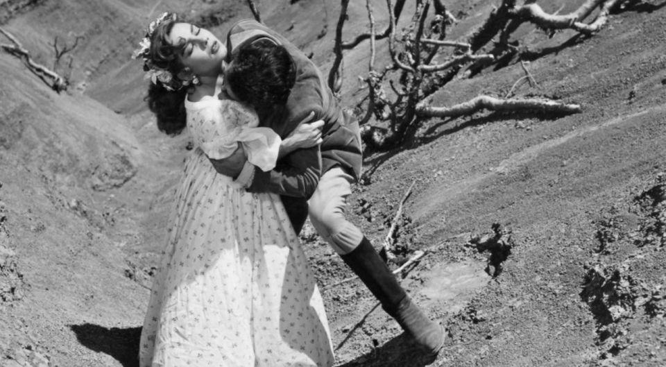 Fotograma de Abismos de pasión de Luis Buñuel