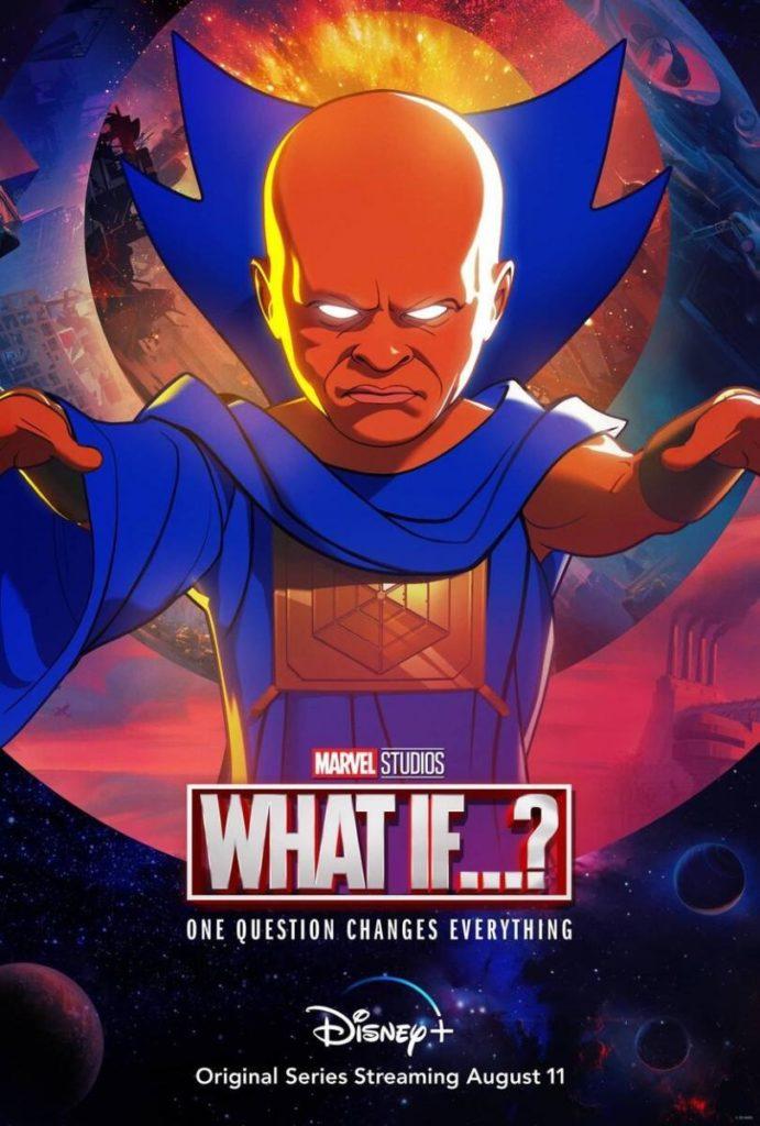 Imagen del poster de la serie de Disneyy Marvel What if